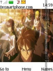 Highschool Of The Dead theme screenshot