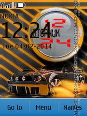 Скриншот темы R-LL Mustang Auto