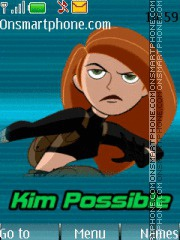 Kim Possible theme screenshot