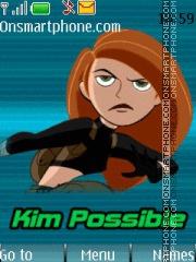 Скриншот темы Kim Possible