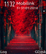 Red path tema screenshot