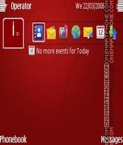 Red es el tema de pantalla
