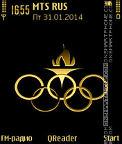 Olympic theme screenshot