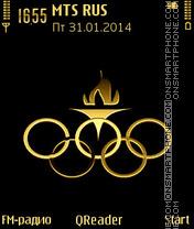Скриншот темы Olympic