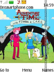 Adventure Time theme screenshot