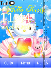 Hello Kitty Animation tema screenshot
