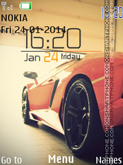 Lambo - Sport Car theme screenshot
