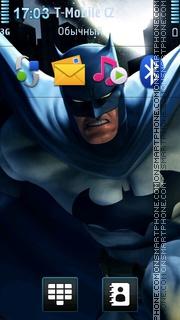 Batman Dc Universe Online theme screenshot