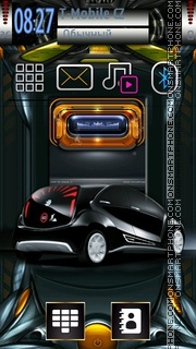 Auto Tech Style theme screenshot