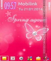 Spring again es el tema de pantalla