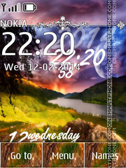 Landscape tema screenshot