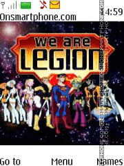 Legion of Superheroes theme screenshot