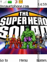 Superhero Squad theme screenshot