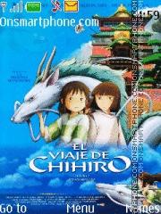 Chihiro theme screenshot
