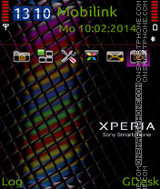 Xperia satio theme screenshot