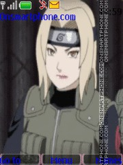 Tsunade Naruto theme screenshot