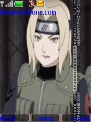 Tsunade Naruto theme screenshot