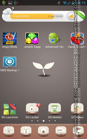 Grey Sprout theme screenshot