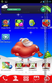 Happy Christmas 06 theme screenshot