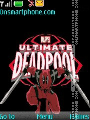 Ultimate DeadPool theme screenshot