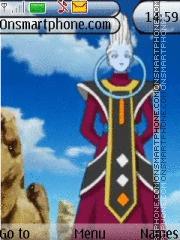 Dragon Ball Z Wiss theme screenshot