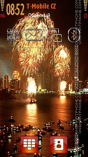 Fireworks 05 tema screenshot