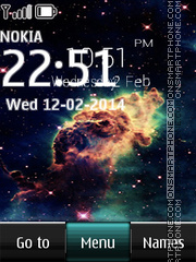 Brightest Explosion In Universe Digital theme screenshot