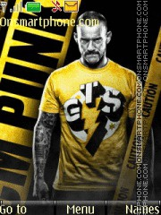 CM Punk - BITW theme screenshot