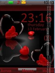 Скриншот темы Hearts