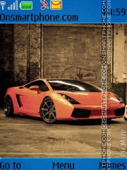 Lamborghini gallardo Theme-Screenshot