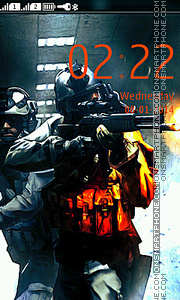 Battlefield es el tema de pantalla
