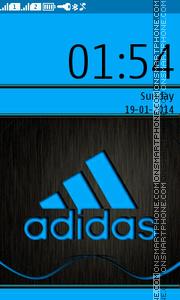 Скриншот темы Adidas -2