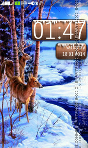 Winter theme tema screenshot