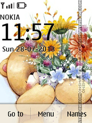 Teddy Bear 08 theme screenshot