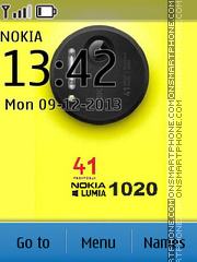 Скриншот темы Nokia Lumia 1020 Style