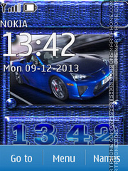 Lexus 09 theme screenshot