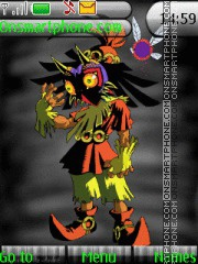 Skull Kid tema screenshot