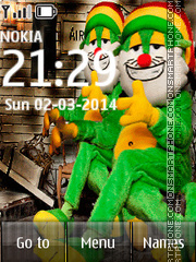 gato de pelagatos reggae Theme-Screenshot