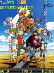 Digimon 4 theme screenshot