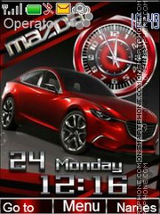 Mazda tema screenshot
