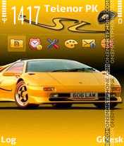 Lamborghini theme screenshot