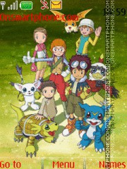 Digimon 02 theme screenshot
