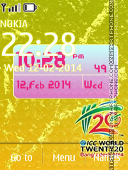 ICC U19 World Cup 2014 theme screenshot