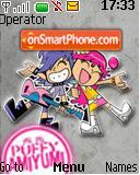 Puffy Amiyumi theme screenshot