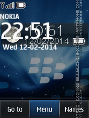 RIM - Blackberry Storm theme screenshot