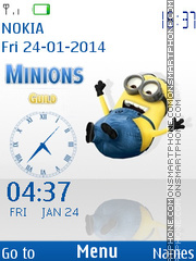 Minions 01 theme screenshot