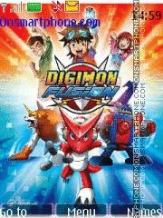 Digimon Fusion theme screenshot