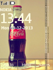 Coca-Cola Bottle theme screenshot