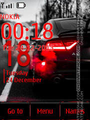 Audi A7 01 theme screenshot