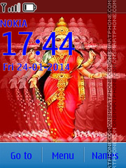 Aarti Laxmi Mata theme screenshot